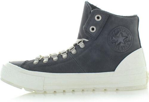 Converse Pánské tmavě šedé vysoké tenisky Chuck Taylor All Star Street Hiker b8bf71be77f