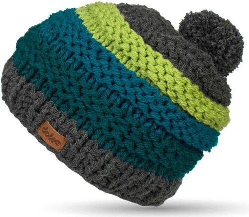 Ručně pletená čepice DOKE Jade - Glami.cz 7367608048
