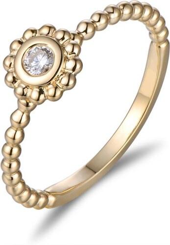 37a335832 Eppi Zásnubný zlatý prsteň s diamantom Mel - Glami.sk