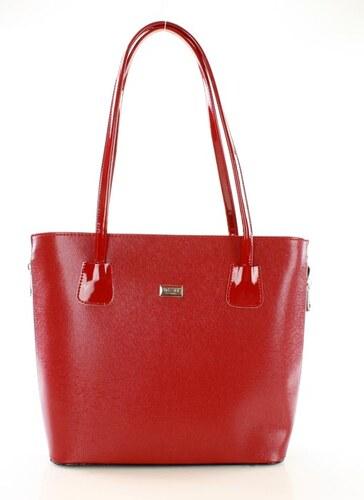 a612ec1030 MAZZINI Dámska červená shopper bag kabelka (e190c) odtiene farieb  červená