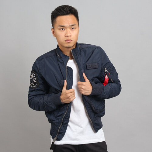2f9e9b4ec Alpha Industries Engine navy - Glami.cz