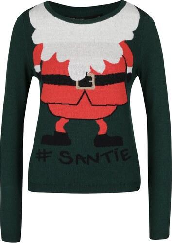 Červeno-zelený svetr s vánočním motivem ONLY Santie - Glami.cz 2965ecf8c8