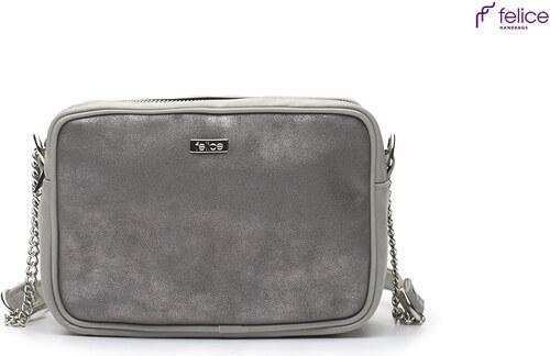 0d57ea9419 Šedá crossbody kabelka Felice (Loretto Due grey) odtiene farieb  šedá