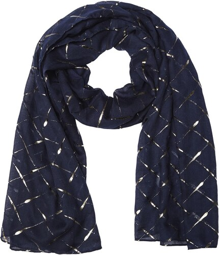 Kookai Etincelle - Foulard - bleu marine - Glami.fr 4d45d97cf90