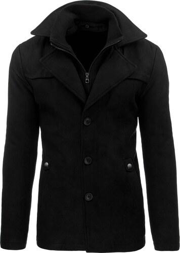 Fantastický čierny jednoradový kabát na zimu 3137 - Glami.sk ad705d91748