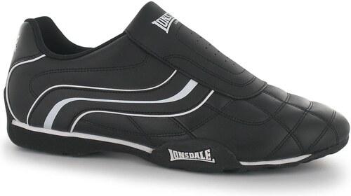 fb010ce8e Lonsdale Camden Slip Mens Trainers Black/White - Glami.sk