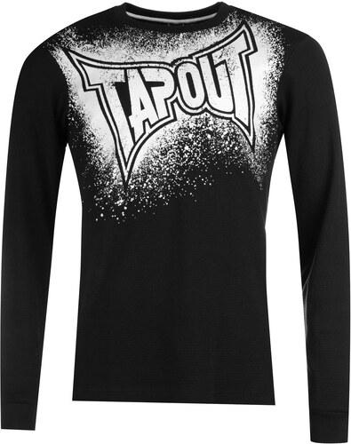 1709d965f5f8 Triko Triko Tapout Waffle T Shirt pánské Black - Glami.sk