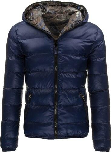 Kétoldalú kék téli kabát - Glami.hu 94de6f342d