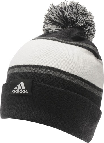 083a2e9ed Čiapka adidas Linear Woolie det. čierna/šedivá - Glami.sk