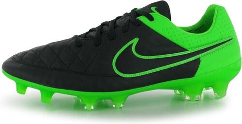 e2ad177b2 Kopačky Nike Tiempo Legend FG pán. černá/zelená - Glami.cz