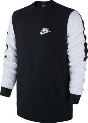 Pánská mikina Nike M Nsw Av15 Crw Flc 804775-010 - Glami.cz 4eb97f474a