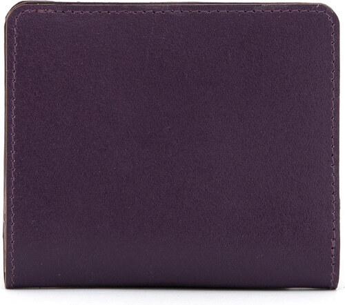 549a0eb500 Mini dámska kožená peňaženka z pravej kože Yoshi fialová - Glami.sk