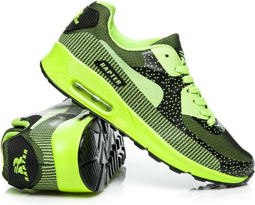32dd904296 RAPTER NEONOVÉ Športové ZELENÉ topánky - B757-31L.GR odtiene farieb  zelená
