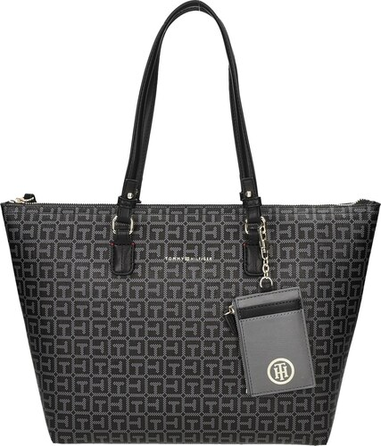 TOMMY HILFIGER AW0AW03412 LOVE TOMMY REVERSIBLE MED TOTE LOGO - Glami.cz f04c8157f7a