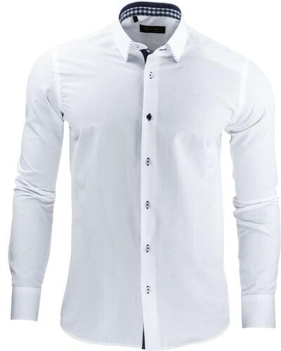 9da196f076a0 Elegantná biela košeľa - Glami.sk