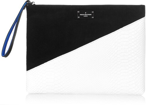 Čierno-biela listová kabelka so vzorom Paul s Boutique Stephanie ... f0361dcebac
