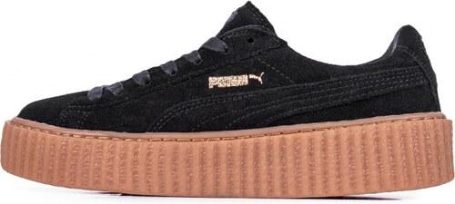 b66c228a4823 Sneakers - tenisky Puma Rihanna x Suede Creepers Black - Black - Oatmeal