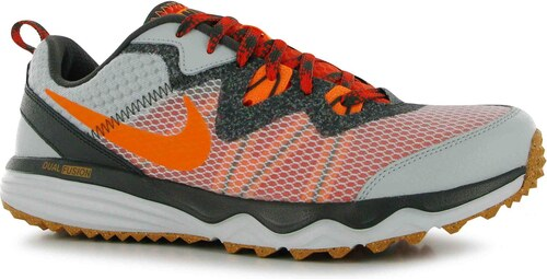 boty Nike Dual Fusion pánské Trail Running Shoes Grey Orange - Glami.cz 9a3e32bd097