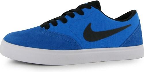 13153c310d Skate tenisky Nike SB Check det. modrá čierna - Glami.sk