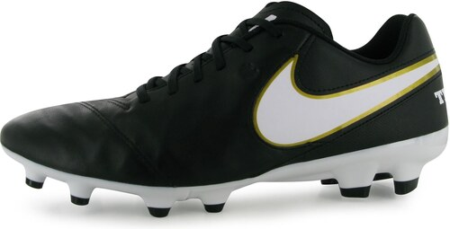 7a37f5434 Nike Tiempo Genio FG pánske kopačky Black/White - Glami.sk