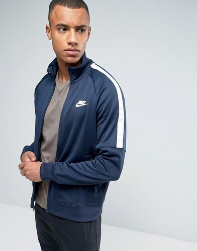 Nike Tribute Veste de survêtement Bleu 678626 452 Bleu