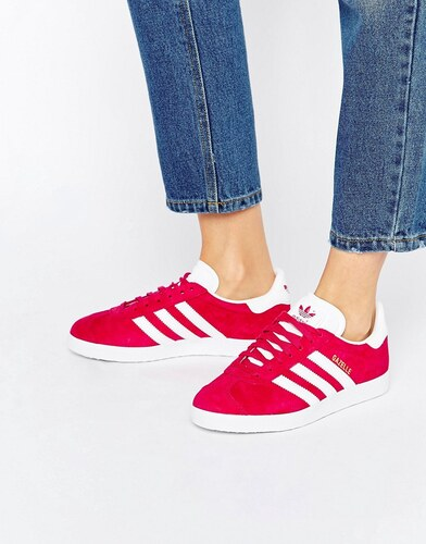 adidas gazelle rose vif