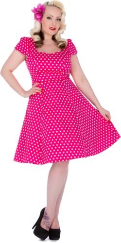 Dolly and Dotty retro šaty Claudia s puntíky d0377fb589