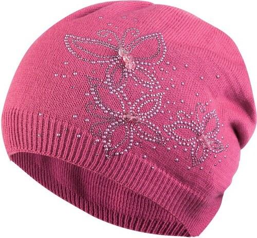 KAMEA Dámská čepice Belisa baretka růžová - Glami.cz 3653941bb9