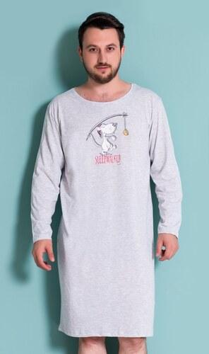 Gazzaz Pánská noční košile s dlouhým rukávem Sleepwalker - Glami.cz d850c59f23