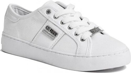 604d81fffb GUESS Dámské tenisky Blume Low-Top Sneakers - white multi leather ...