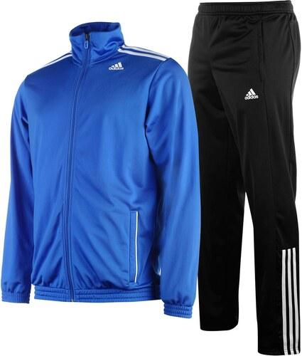 Sportovní souprava adidas 3 Stripe Entry pán. modrá černá - Glami.cz ef82903cca