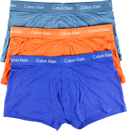 b5f807ea43 Calvin Klein barevné boxerky 3 Pack Low Rise Trunks - Glami.cz