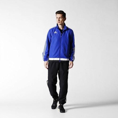 Súprava adidas Performance TIRO15 PRE SUIT (Modrá   Biela   Čierna ... e3eebb24620