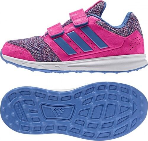 7a6835d6c60 Dětské boty adidas Performance lk sport 2 cf k (Růžová   Modrá   Bílá)