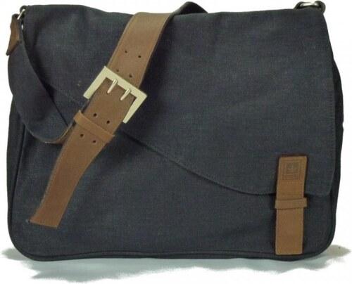 f30e891676 PURE WALLET A4 taška přes rameno z konopí a biobavlny - Glami.cz
