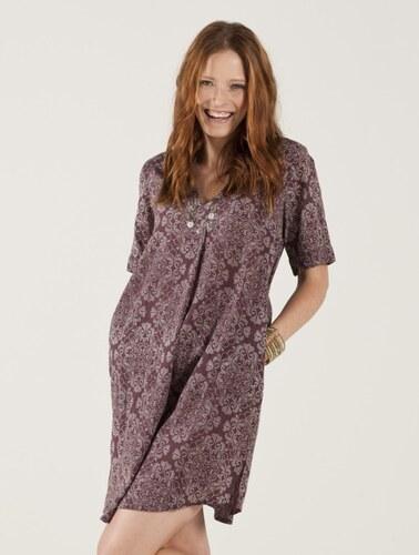 DISC dámské tunikové šaty - růžové dřevo Nomads - Glami.cz a0cdf304a8