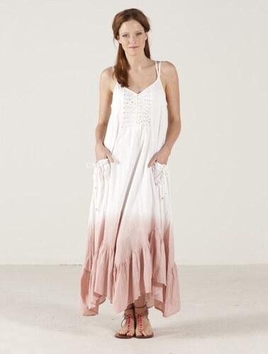 Nomads BOHO dlouhé dámské šaty - bílá - Glami.cz f9f7c0ac68