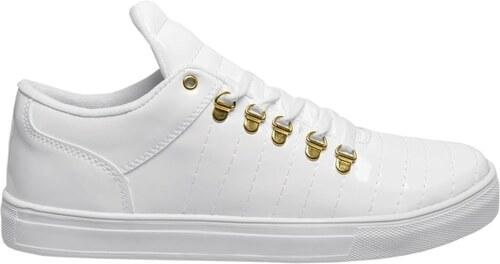Klasické biele tenisky pre pánov CONER B1504 - Glami.sk c972be15ead