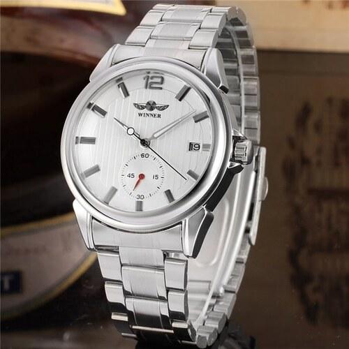 Pánské automatické hodinky Winner Bussines 7M4SS1 - Glami.cz 6d6b25ac19