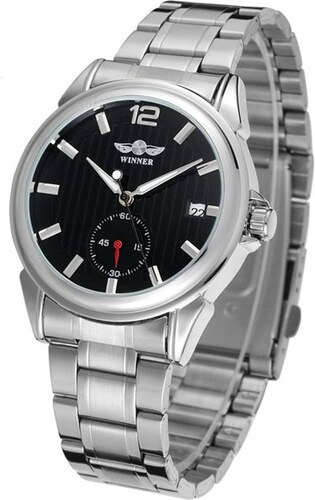 Pánské automatické hodinky Winner Bussines 7M4SS2 - Glami.cz 51c60d1e49