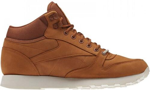 Reebok Classic Leather Goretex Mid hnědé AQ9851 - Glami.cz a1f75f542d2