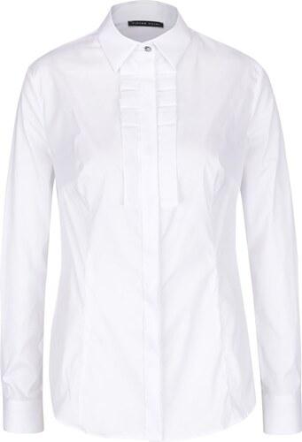 Bílá dámská košile s fiží Pietro Filipi - Glami.cz 5bb9e91f82