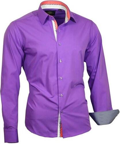 cc0c5a7238a0 BINDER DE LUXE košeľa pánska 82700 luxusná - Glami.sk
