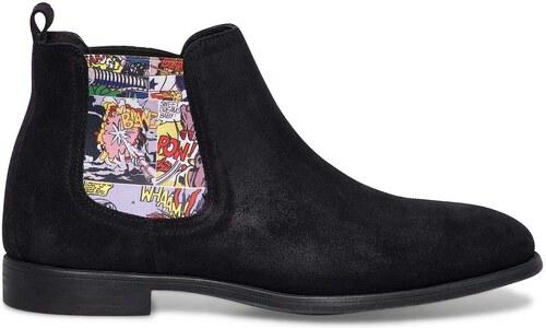 6990c44fb1 Eram chelsea boots noirs homme - Glami.fr