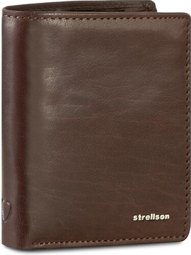 4a1031f12c Veľká Peňaženka Pánska STRELLSON - Jefferson 4010001302 Dark Brown ...