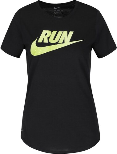 d48cba5836a09 Čierne dámske tričko s nápisom Nike Running - Glami.sk