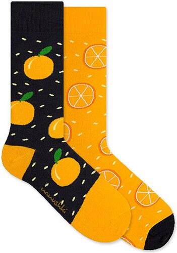 Nanushki - Ponožky Crazy Orange - Glami.cz fb47bc3390