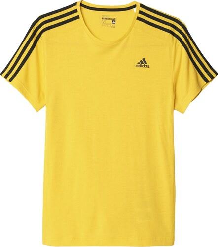Pánské tričko adidas Ess 3S Tee žlutá - Glami.cz 8172975f2e1