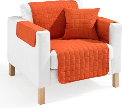 bpc living bonprix chemin de canap nina orange pour. Black Bedroom Furniture Sets. Home Design Ideas