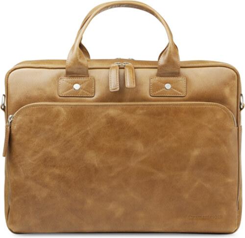 Kožená taška na notebook 14